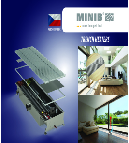 Trench Heaters, Wall-Mounted convectors, Free-standing Convectors (MINIB)